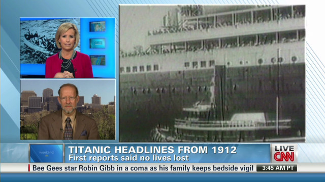 Author sheds light on Titanic aftermath