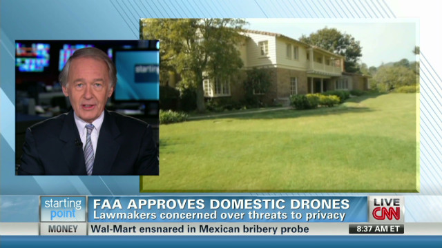 Markey: Public debate needed on drones