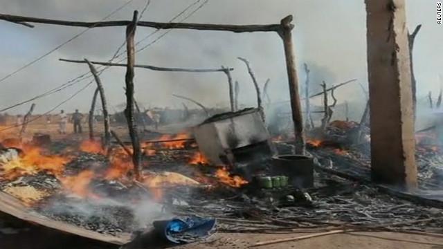 Sudan airstrikes target South Sudan