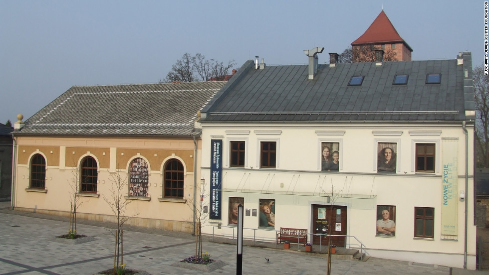 The Auschwitz Jewish Center includes a renovated, historic synagogue, a museum and an education center. It is located in the old city center of Oświęcim, a few kilometers from Auschwitz.
