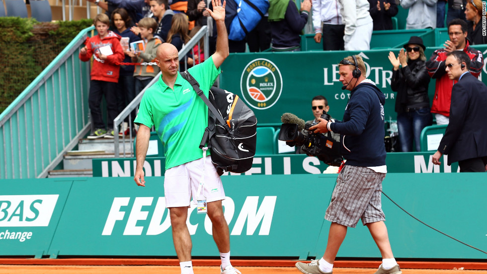 Ivan Ljubicic bows out of the Monte Carlo Masters and leaves the stage of men's professional tennis for the last time at the age of 33.
