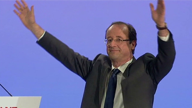 Hollande claims first-round victory in France