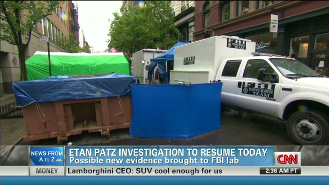 What DNA could show in Etan Patz case