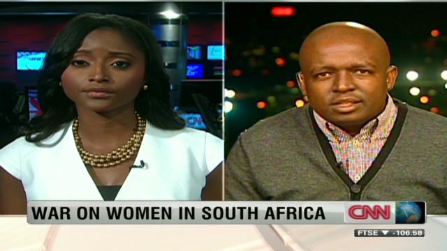 South Africa's rape problem