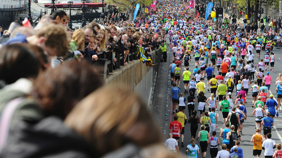Around 37,500 runners took part in the London Marathon. Claire's death is the 10th since the race began in 1981 and she is the only woman to have died in the event.