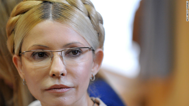 Yulia Tymoshenko, Former Ukrainian prime minister, said she had been on a hunger strike after being beaten in prison.
