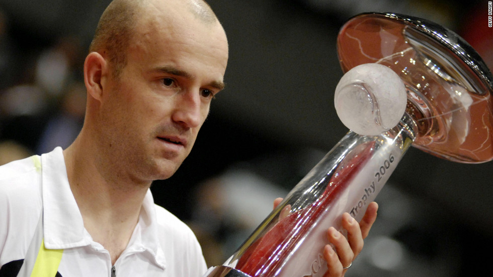 """Ljubicic reached a career-high ranking of No. 3 in the world in 2006 -- a year in which he won three ATP titles, including this one in Vienna. """"I felt like I was No. 1 because at the time it was impossible to get to (Roger Federer and Rafael Nadal). It is something I am really proud of. I felt like the No. 1 of normal people,"""" he said."""