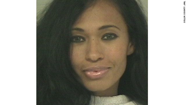 Pilar Sanders was booked into jail Monday night on suspicion of assault family violence.