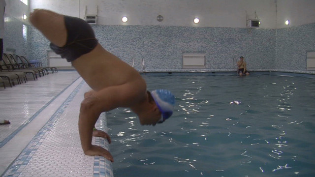 Amputee swimmer headed to Paralympics