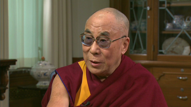 Dalai Lama: Bush 'very nice person'