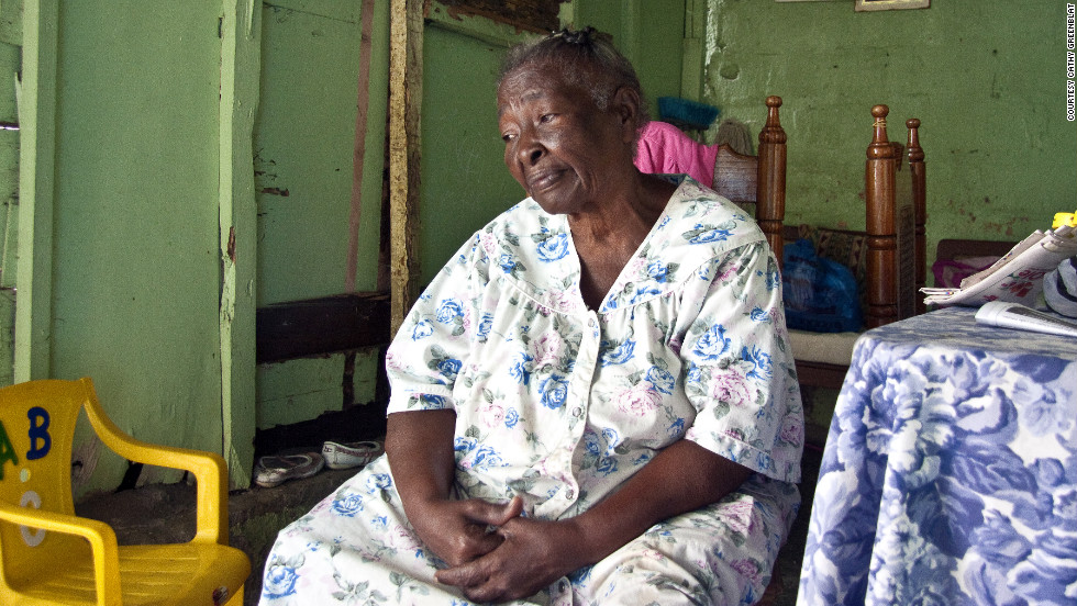 In the Dominican Republic, Maria's increasing struggle with Alzheimer's forced her to move from her longtime home to a residence in another area where her family could care for her.