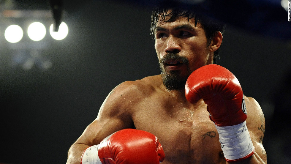 "Filipino professional boxer Manny Pacquiao is one of the hottest tickets in the boxing world.  Named ""Fighter of the Decade"" for the 2000s by the Boxing Writers Association of America, Pacquiao is an eight-time world champion."