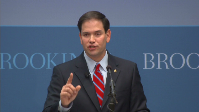 Sen. Rubio: 'World is our business'