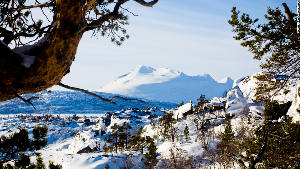 Lulea is part of the area commonly known as Lapland, a reindeer heartland and home, of course, to Santa Clause's legendary workshop.