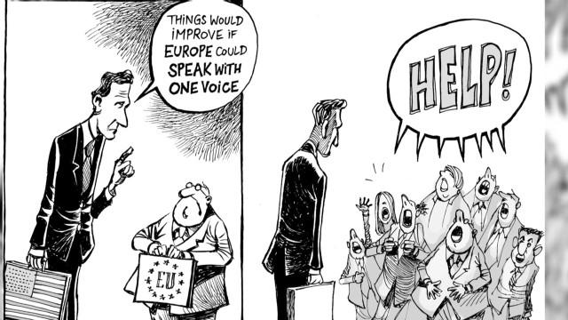 High praise for Swiss cartoonist