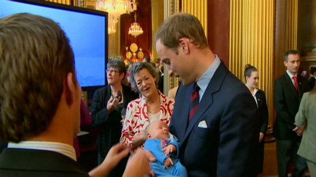 Prince William puts in baby practice
