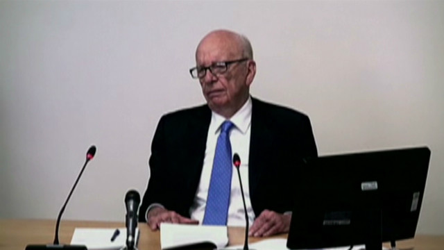 Rupert Murdoch on hacking: 'I failed'