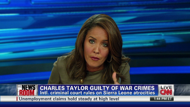 Charles Taylor guilty of war crimes