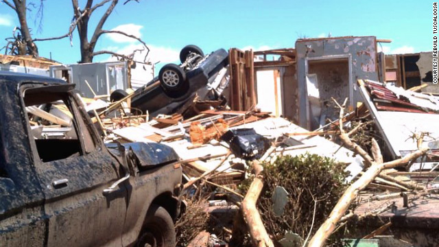Stephannie Nixon's house was destroyed in the April 27, 2011 tornado outbreak.