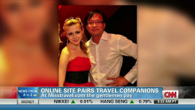 Site lets 'attractive' set travel free