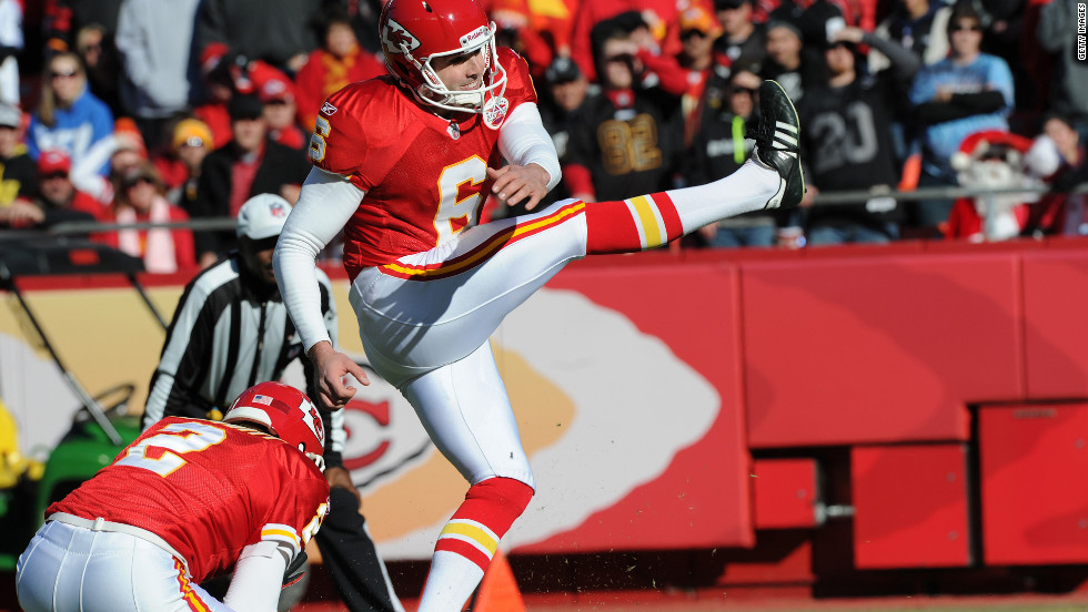 Placekicker Ryan Succop was drafted by the Kansas City Chiefs in 2009. He finished his first season tying an NFL record for highest field goal percentage by a rookie.