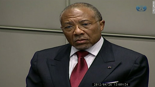 Charles Taylor guilty of aiding rebels