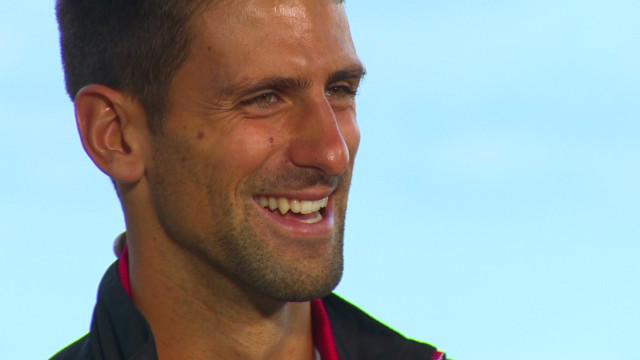 Novak Djokovic under the spotlight