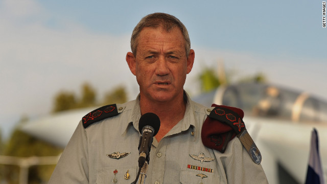 "Israeli Chief of Staff Lt. Gen. Benny Gantz says Iran is led by ""very rational people."""