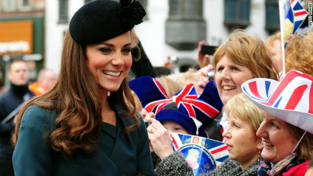 Catherine, Duchess of Cambridge during her visit to Leicester on March 8, 2012 in Leicester, England.
