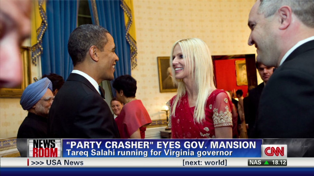 """PARTY CRASHER"" EYES gov. MANSION"