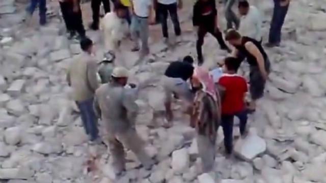 Opposition: Syria attack kills dozens