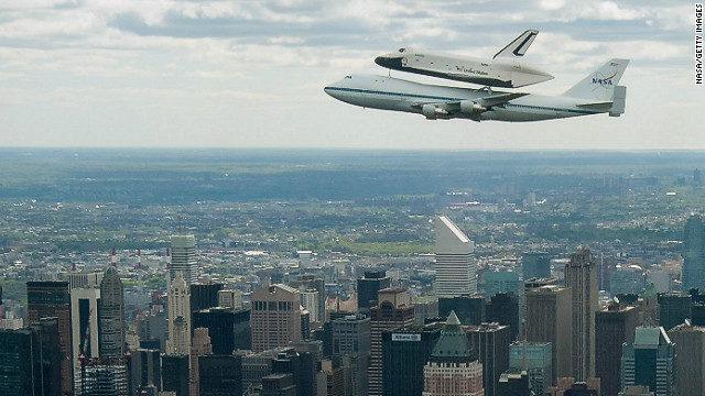 Shuttle Enterprise's final journey