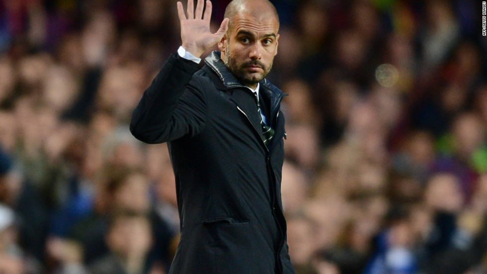 All-conquering Bayern, who will contest the German Cup final on June 1 as they seek an historic treble, are preparing to welcome Josep Guardiola as their new coach for next season. The former Barcelona manager won 14 trophies in a four-year spell at the Spanish giants, sparking a clamor for his signature after he spent a year out of the game.