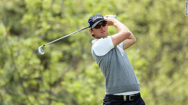 Austria's Bernd Wiesberger is well placed to claim his first tour victory in Seoul, South Korea after a third round 65
