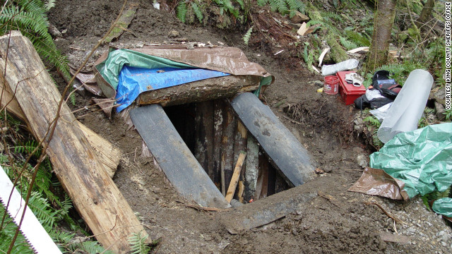 Body found in bunker where suspect hid