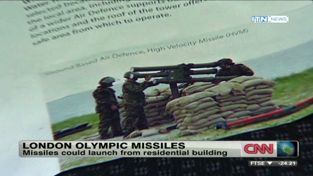 Missiles at London Olympics?