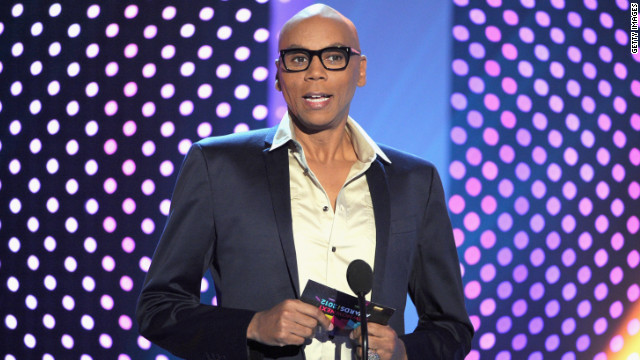 RuPaul, shown here speaking at at Logo's 'NewNowNext Awards' 2012 in April, gives insight into his show.