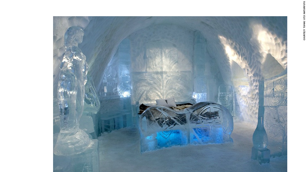 "North Sweden's now-infamous ""Ice Hotel"" -- where visitors sleep on a bed made from blocks of frozen ice -- is finally available for bookings in the summer months, albeit at slightly reduced capacity."