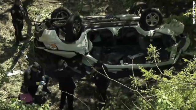 'Horrific' car crash shocks rescuers