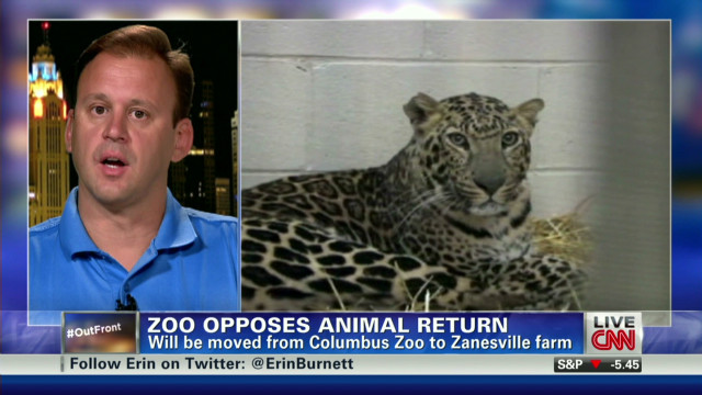 Zoo opposes exotic animals return home
