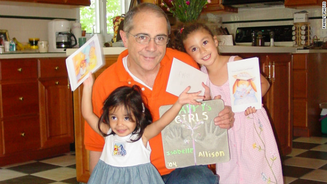 Ray Williams, with two of his granddaughters, had just retired before he was shot and killed outside his home.