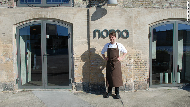 Noma made it a hat trick in the World's Best 50 Restaurants awards in 2012, taking the top award for the third year in a row.