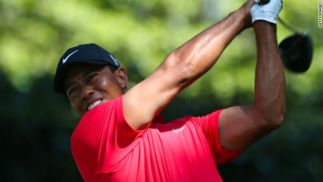 Woods says he took a full week off golf following his worst Masters performance as a pro.