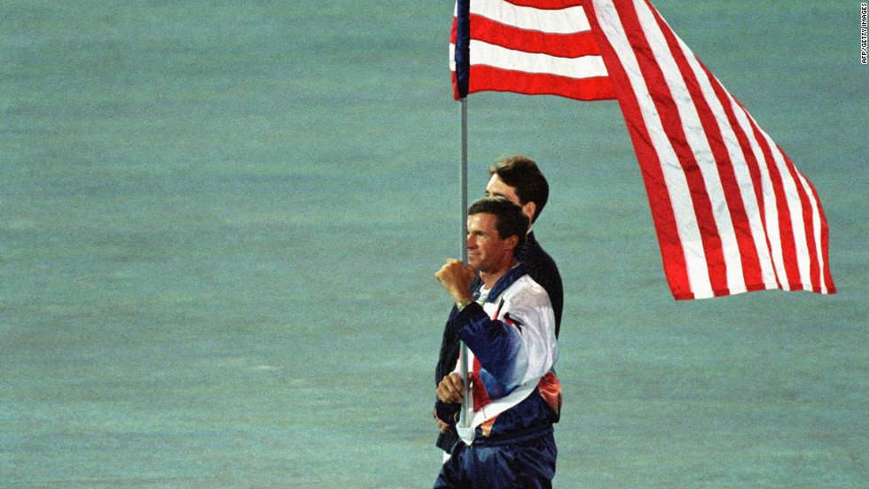Before he was a trainer, Matz was a world champion showjumper. He also won silver during the 1996 Atlanta Olympics, where he carried the American flag during the closing ceremony.