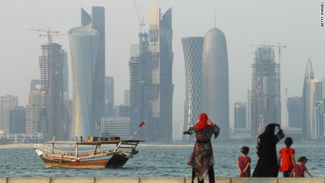 Qatar flexing its regional clout
