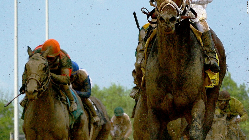 "Borel also crossed the finish line first on Super Saver in 2010. The sight of him hugging the rail is so familiar that fans know him as ""Calvin Bo-Rail"" -- while Kentucky Derby race caller Mark Johnson has nicknamed him ""The Paint Stripper."""