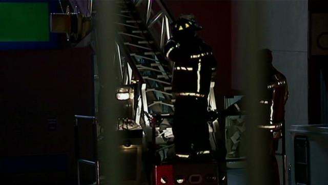 Fire strikes Tyler Perry Studios