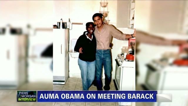 Auma Obama on meeting her brother Barack