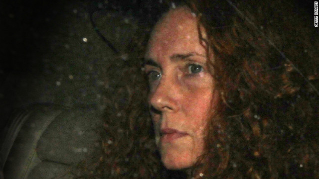 Rebekah Brooks resigned last summer as chief executive of News of the World's publisher, News International.