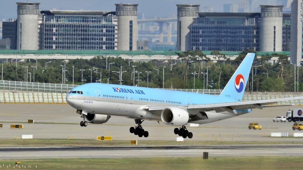 Korean Air VP delays flight over nuts